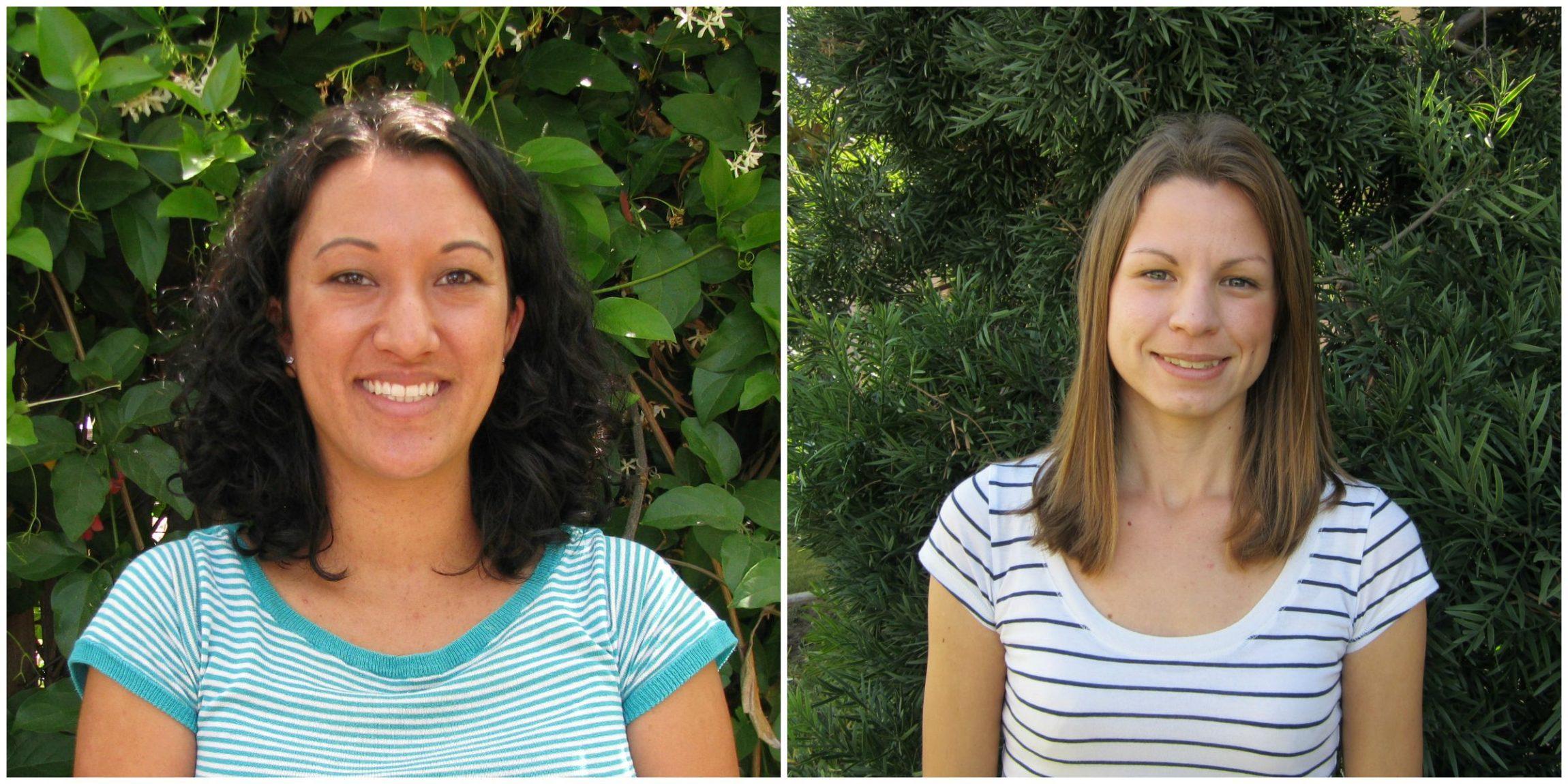 Amanda (left) & Barbara - ILACSD's Recycling HotlineTeam