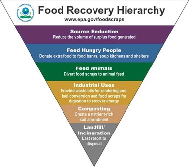 Food Recovery Hierachy