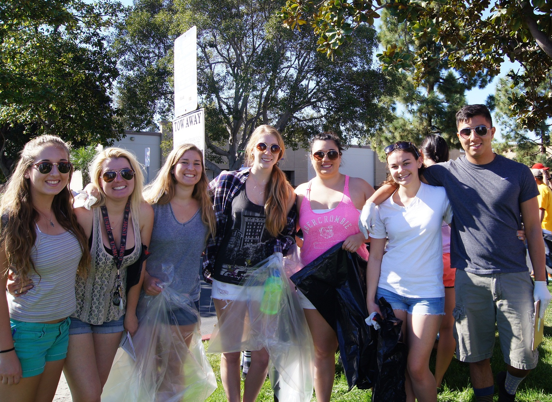 Cupid's Cleanup in San Diego