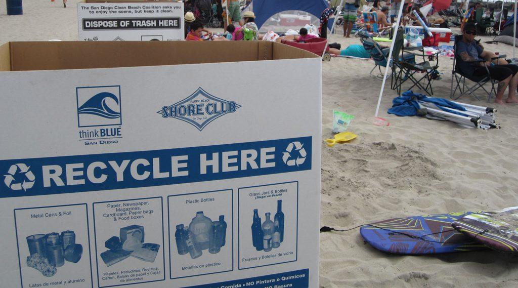 Clean Beach Coalition Bin