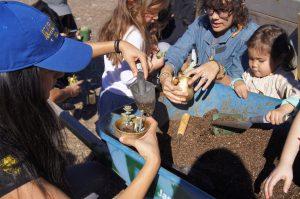 zero waste organics workshop at ocean knoll farm