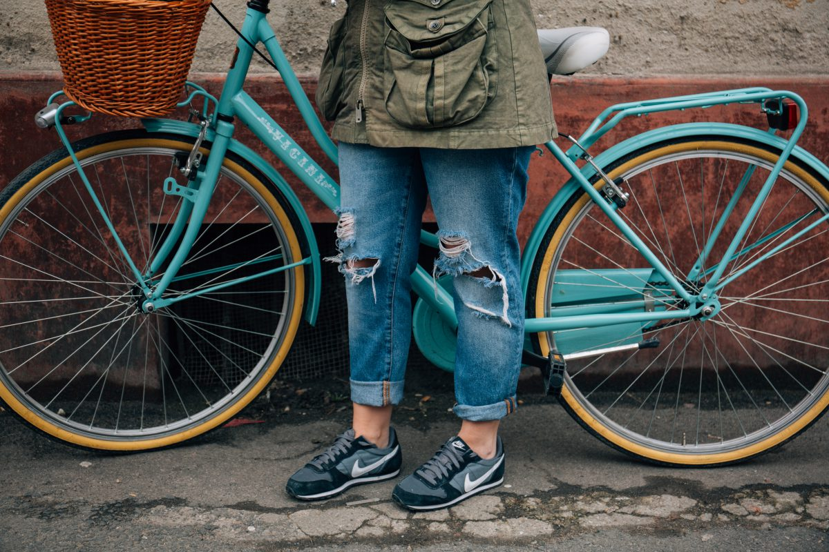 reduce your ecological footprint with cycling!