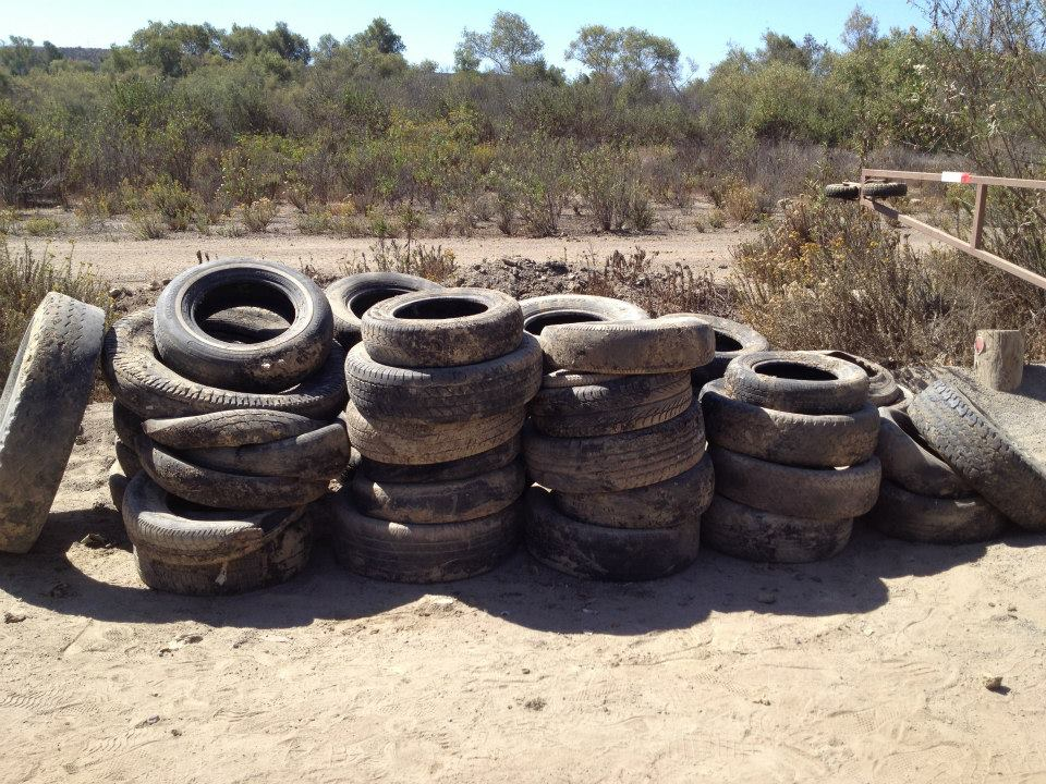 Better than Crossfit: exercise through ILACSD tire removal