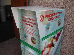 Dispose of drugs any day at  Sheriff's stations!