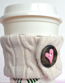 sweater coffee cozy