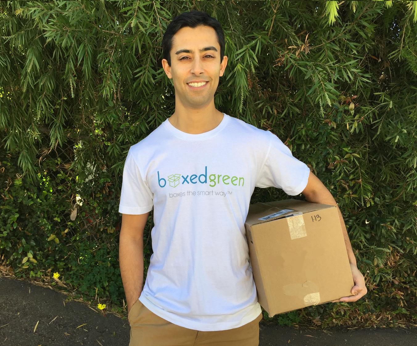 BoxedGreen Founder