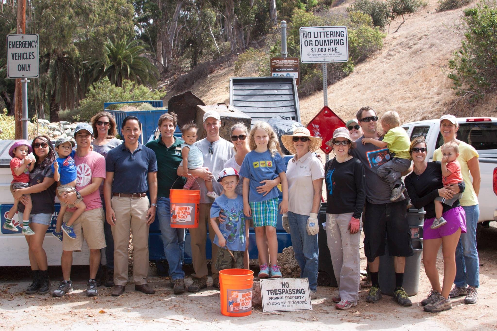 Maple Canyon cleanup led by RECON Environmental, Inc.