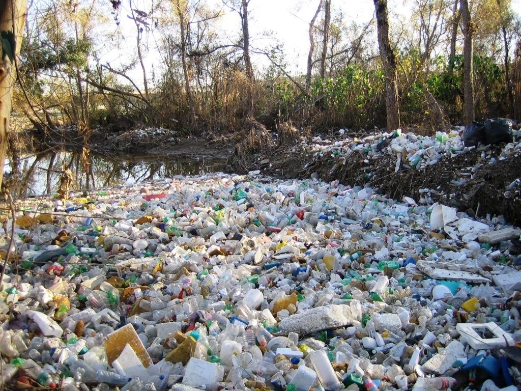 Trash in TJ River