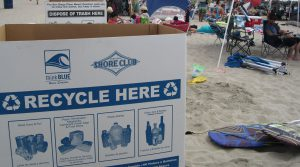 Clean Beach Coalition Bin
