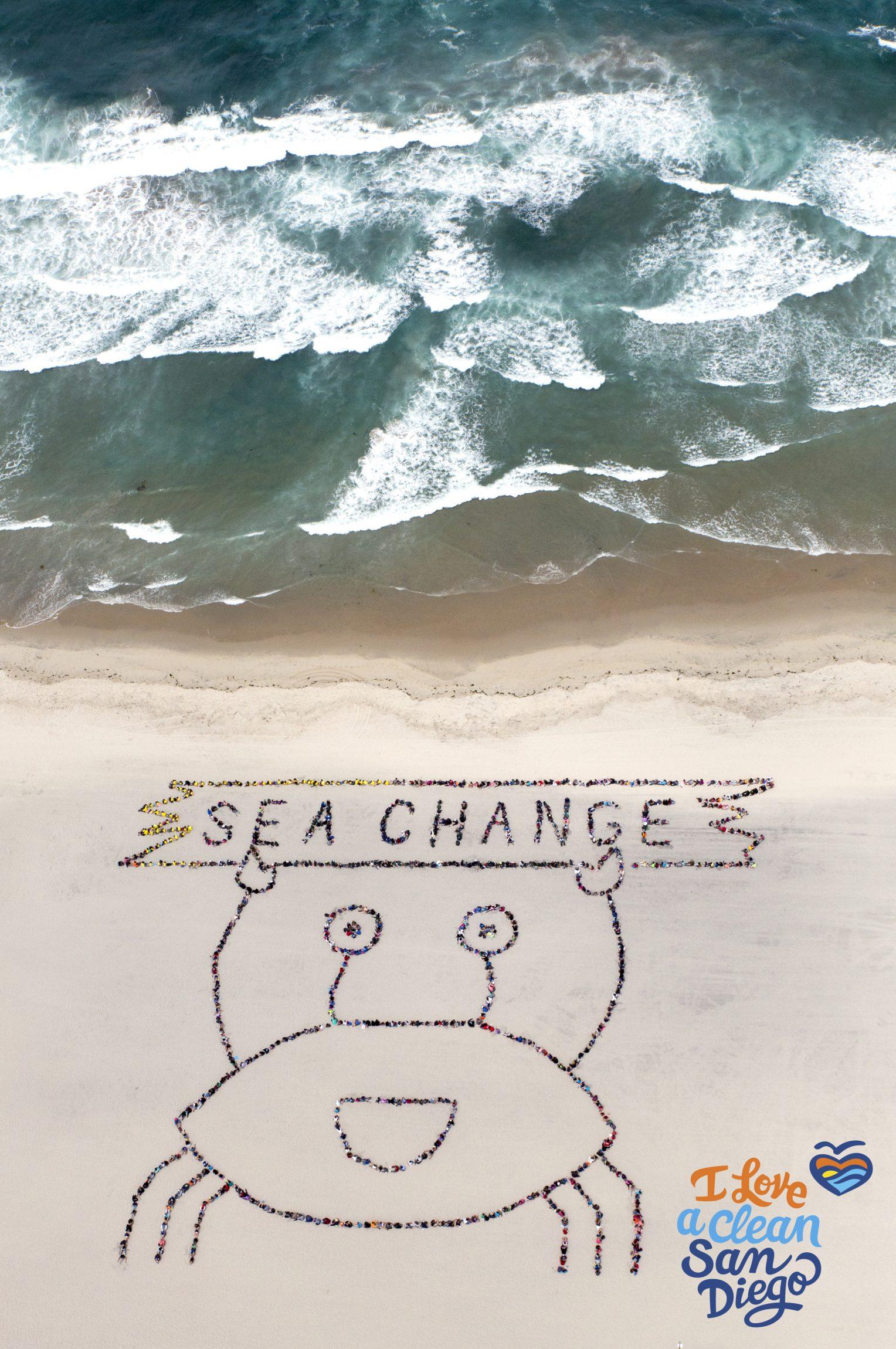 Aerial Art - Kids' Ocean Day 2016