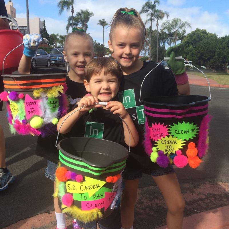 creek to bay bling your bucket volunteer contest