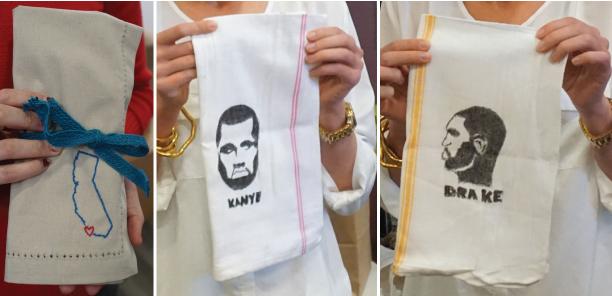 reusable napkin idea